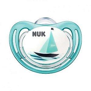 Chupeta Freestyle Tamanho 1 0-6 Meses Barquinho Max Air Flow NUK