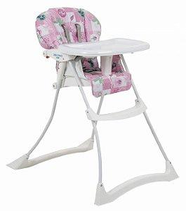 Cadeira de Refeição Burigotto Papa & Soneca Peixinhos Rosa