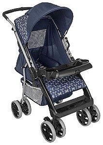 Carrinho de Bebe Tutti Baby Thor Azul New