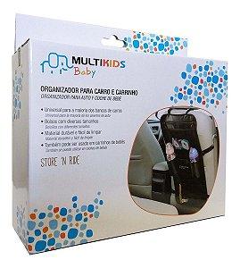 Organizador De Carro Porta Brinquedos E Acessórios Para Bebe Multikids