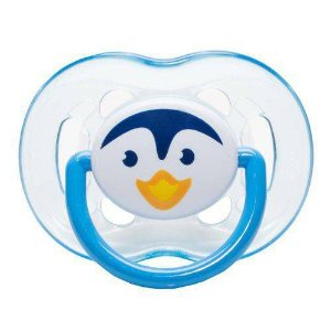 Chupeta Freeflow Animal Pinguim Azul - Philips Avent