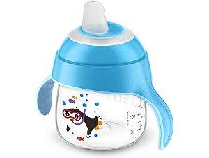 Copo Pinguim Philips Avent 200ml - Azul