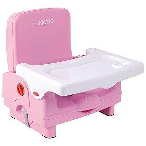 Cadeira de Refeição Kiddo Sweet Rosa Portatil