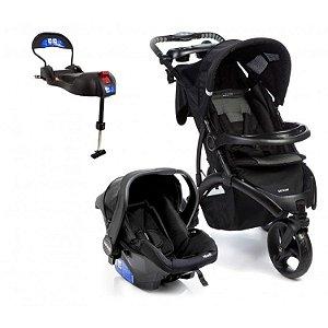 Carrinho de Bebe Bebe conforto e Base Isofix Infanti Off Road Onyx