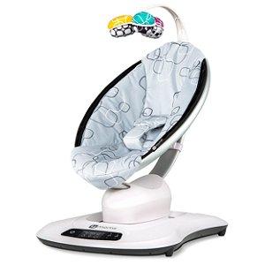 Cadeira De Descanso 4moms Mamaroo 4.0 Silver Plush Cinza