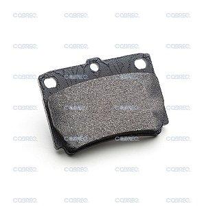 Pastilha de freio fiat bravo / punto / linea traseira cobreq n-546