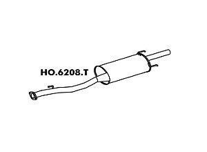 Silencioso Honda Accord Lx 2.2 / Sw 94 A 97  Traseiro