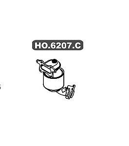 Catalisador Primario Honda City 1.5 16V Gii 2009 A 2014