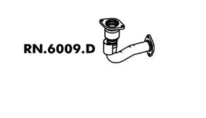 Tubo Saida Do Motor Mégane 1.6 8V / 1.6 16V / 2.0 8V / 2.0 16V