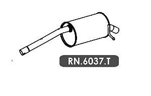 Silencioso Sandero 1.6 8V Gii Automatizado / Manual 2014 Em Diante Gii Traseiro