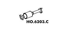 Catalisador Honda Civic 1.6 Lx / Ex 92 / 96