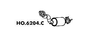Catalisador Honda Fit 1.4 / 1.5 2003 A 2008 Gi