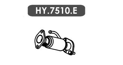 Tubo Escapamento Hb20 1.6 16V Hatch 2012 A 2014