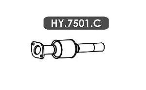 Catalisador Hb20 1.6 16V Hatch / Sedan 2015 Em Diante Secundario