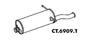 Silencioso Citroen Xsara Picasso 1.6 16V 2005 A 2012 Traseiro