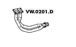 Tubo Do Motor Escort Ghia / Xr3 / Verona 1.8 11/89 Até 91