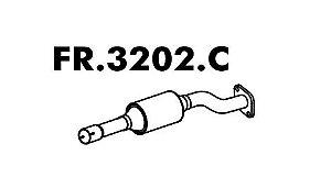 Catalisador Silencioso Escort/ Sw 1.8 16V Zetec 97 A 2003 / 1.6 16V 2000 A 2003