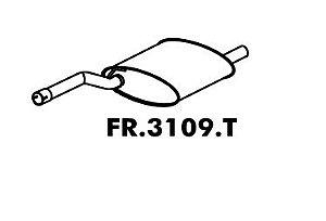 Silencioso Focus Hatch / Sedan 1.8 16V / 2.0 16V 2000 A 2008 Traseiro