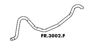 Cano Escapamento Galaxie Ltd / Landau 80 Até 82