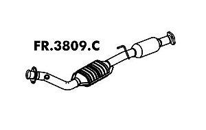 Catalisador Ranger Dohc 2.3L 16V Cab. Simples / Dupla / Super Cab. 4X2 / 4X4 Gasolina 2001 Em Diante