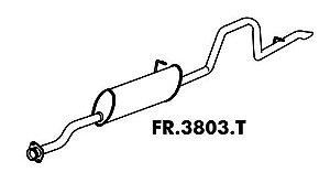 Silencioso Ranger Gasolina Stx 4.0 94 A 97