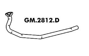 Tubo Escapamento A20 / C20 / D20 4X2 / 4X4 6 Cilindros 09/88 A 92