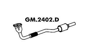 Tubo Saida Do Motor Astra 1.8 8V 98... / 2.0 8V 98 A 2000 Gasolina / Álcool