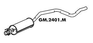 Silencioso Astra Hatch 2.0 95 Até 97 Importado Intermediario