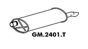 Silencioso Astra Hatch 2.0 95 Até 97 Importado Traseiro