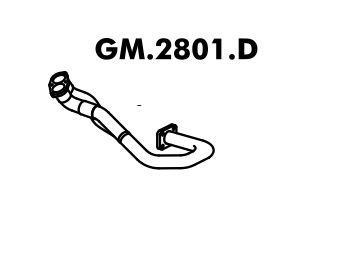 Tubo Do Motor Blazer 2.2 95 A 97