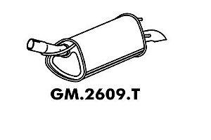 Silencioso Celta 1.0 8V Até 07/2005 Traseiro