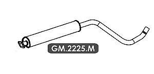 Silencioso Cruze 1.8 16V Hatch / Sedan Automático / Mecânico 2012 Em Diante Intermediario