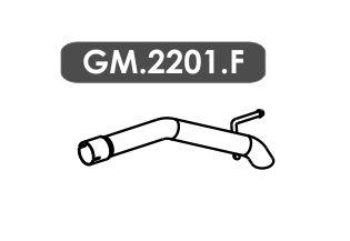 Tubo Saida Cruze 1.8 16V Hatch / Sedan Automático / Mecânico 2012 Em Diante
