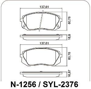Pastilha De Freio Hyundai Ix35 / Kia Sportage
