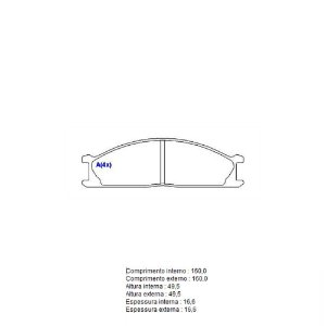 Pastilha De Freio Nissan Frontier