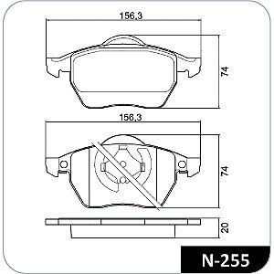 Pastilha De Freio Audi A4