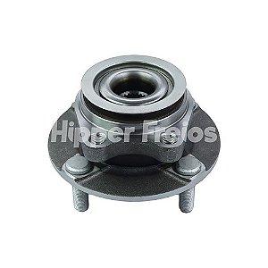 Cubo Roda Nissan Tiida Dianteiro 4 Furos C/ Rolamento C/ Abs