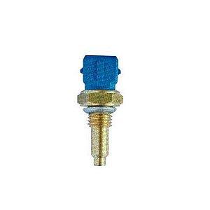 Sensor Temperatura Uno / Gol / Agua Plug Eletronico 2 Vias Azul