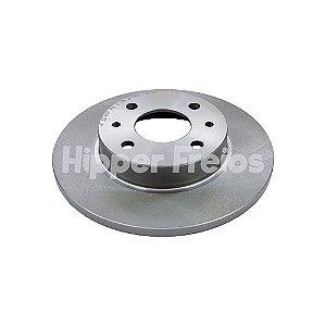 Disco Freio Fiat Mobi / Tipo / Tempra Dianteiro Solido S/ Cubo 240Mm 4 Furos