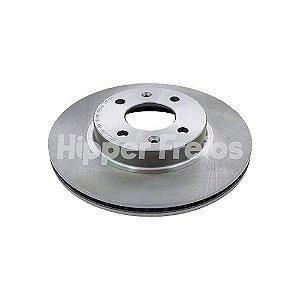 Disco Freio Hyundai Hb20 - Dianteiro Ventilado S/ Cubo 256Mm 4 Furos