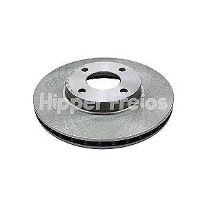 Disco Freio Nissan Kicks - Dianteiro Ventilado S/ Cubo 258Mm 4 Furos