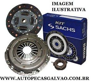 Kit Embreagem Fox - 190Mm/28 Estrias Plato/Disco/Rolamento