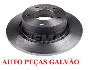 Disco Freio Bmw Traseiro Solido S/ Cubo 296Mm 5 Furos Bd1725 Fremax