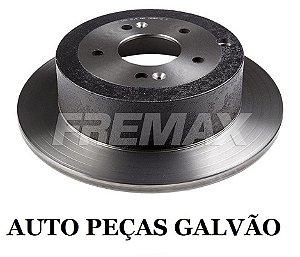 Disco Freio Hyundai Santa Fé / Kia Sorento Traseiro Solido S/ Cubo 302Mm 5 Furos Bd5110 Fremax