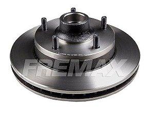 Disco Freio Ford F1000 Dianteiro Ventilado C/ Cubo 290Mm 5 Furos Bd7921 Fremax