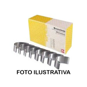 Bronzina Biela Fusca / Gol / Kombi Spa 0.25 - Sbb121J025