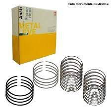 Anel Motor Gol / Santana / Parati Premium Std 3 Canaletas 4 Cilindros Ta721500