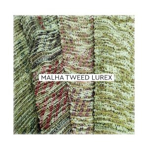 Malha Tweed Lurex ( vendido no metro )
