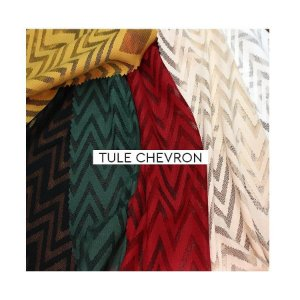 Tule  Chevron (vendido no quilo)