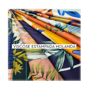 Viscose Estampada Holanda